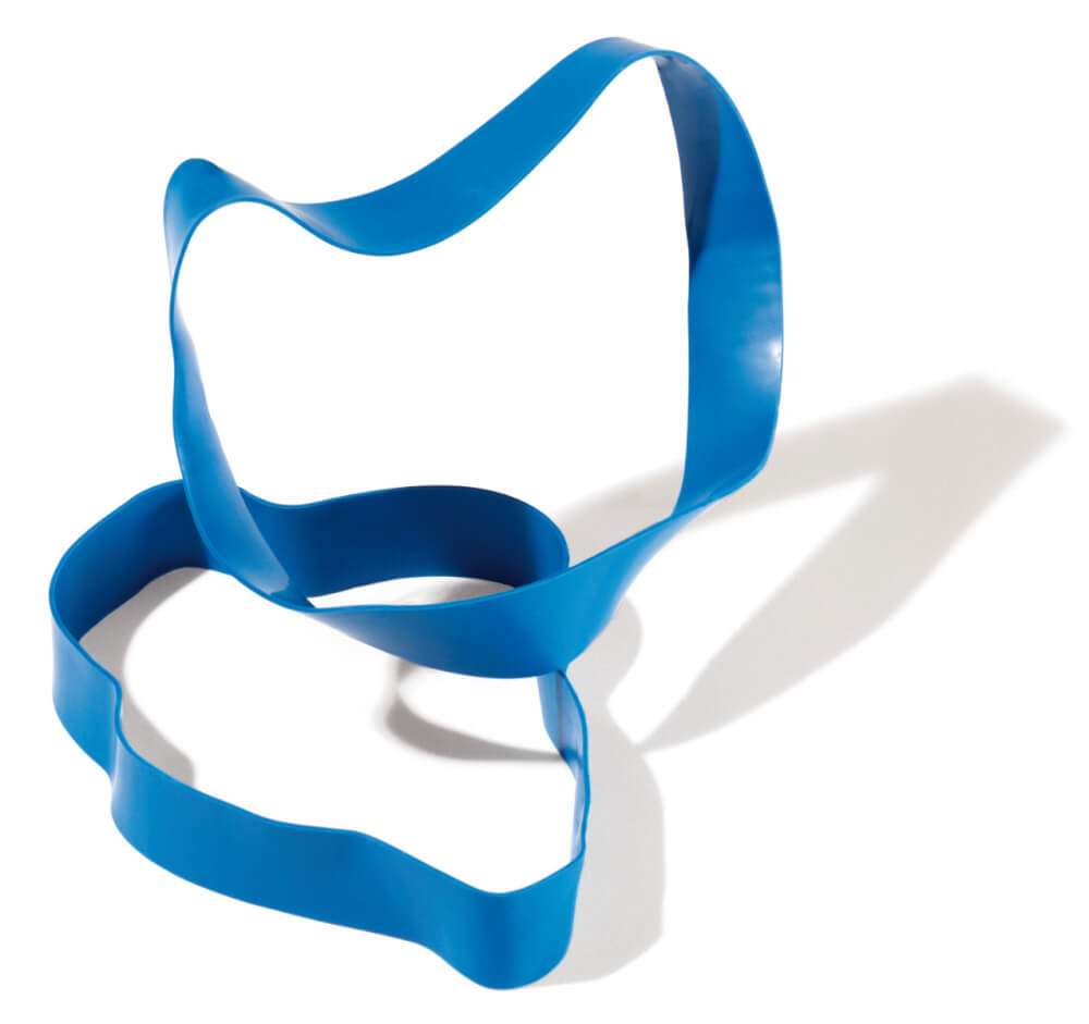 Rubberband Hård / blå