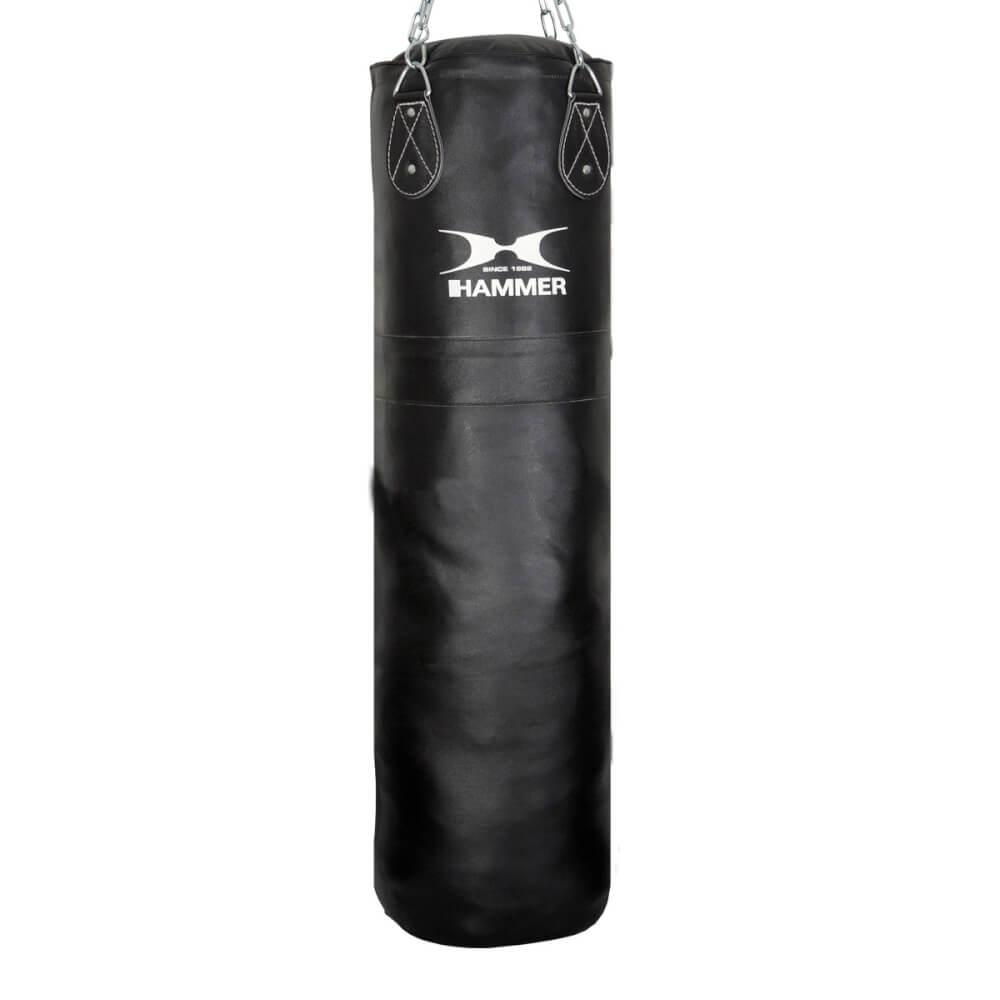 HAMMER BOXING Boxningssäck Läder Premium