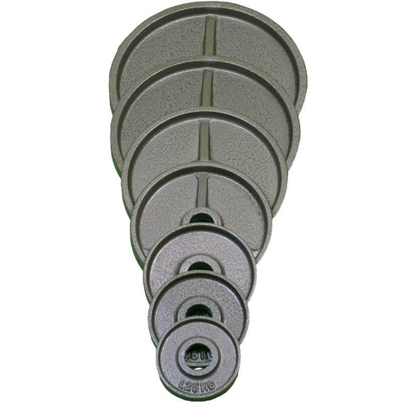 Int. viktskiva 50 mm 25 kg