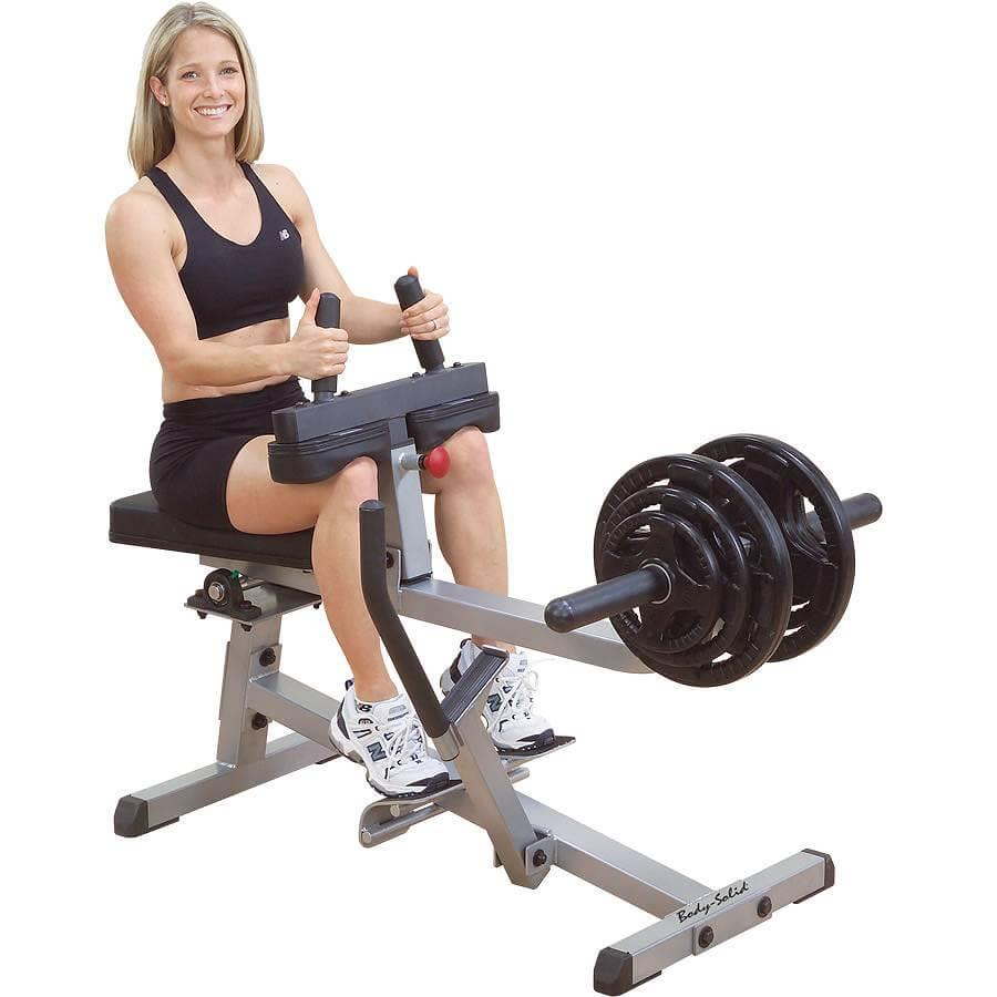 Body Solid Sittande Vadpress Extra kraftig