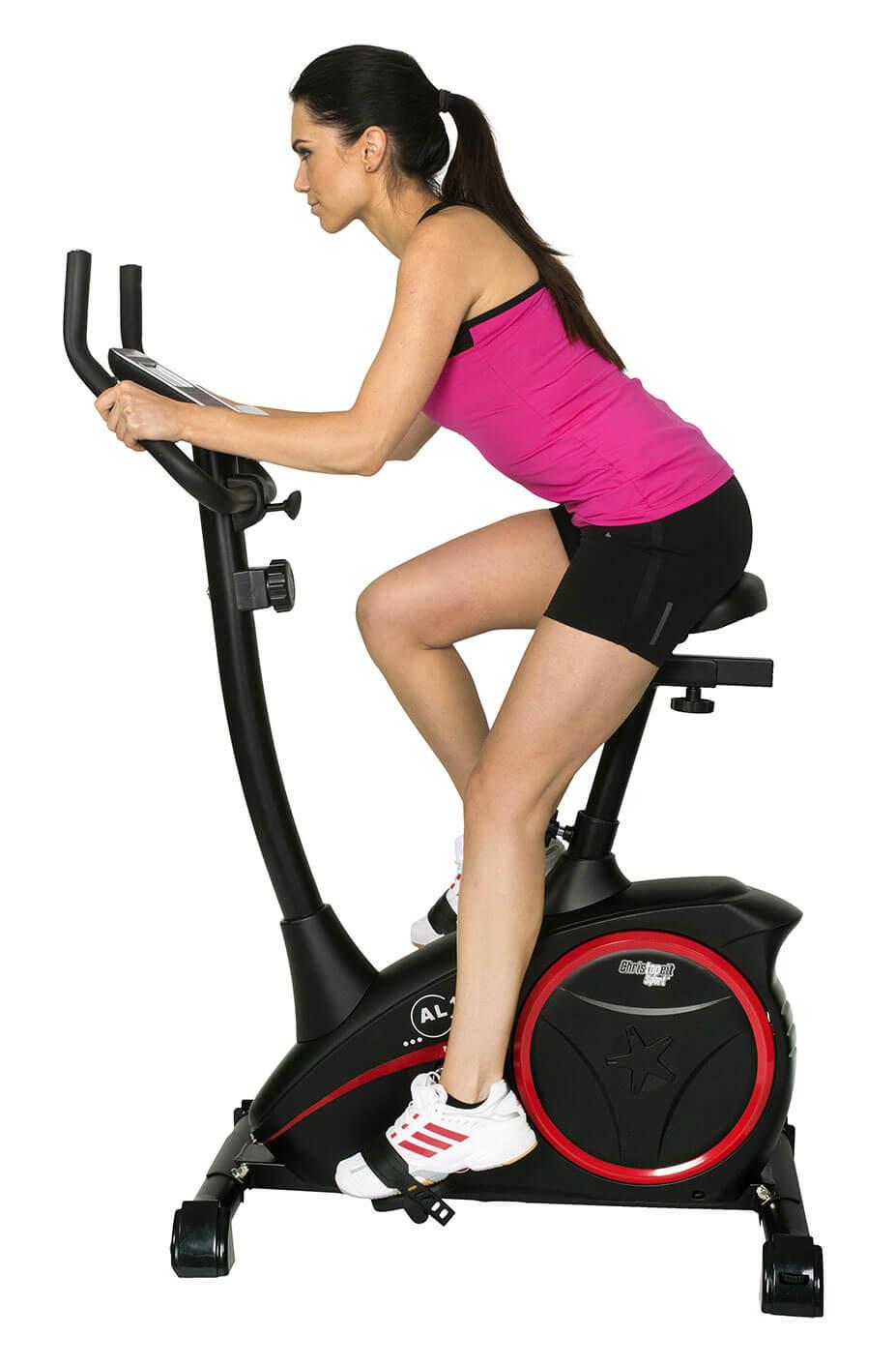 Motionscykel AL1 Svart