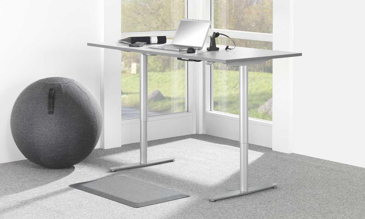 Office Duo 75 cm Paket med matta