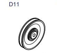 Linhjul GCCO-150-D11