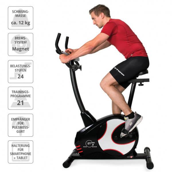 Motionscykel Ergometer ET 2000